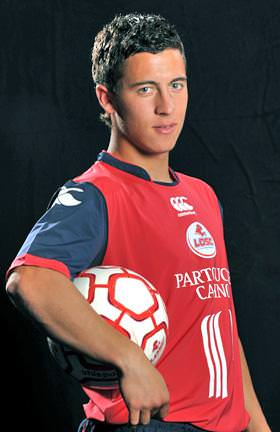 Eden Hazard very young