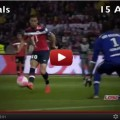 Eden Hazard goals and assists Lille