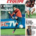Eden Hazard Best Player 2012 L'equipe