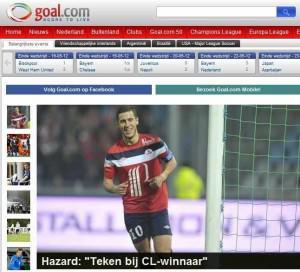 """Eden Hazard:""""I am signing for Chelsea"""""""