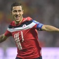Eden Hazard made a hattrick during his last game for Lille before signing for Chelsea