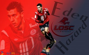 Eden Hazard 2012 Wallpaper - Lille