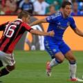 Eden Hazard picture Chelsea - AC Milan