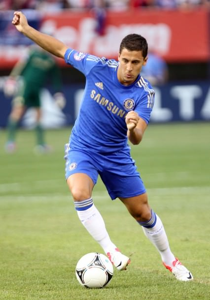 Eden Hazard in action at Chelsea