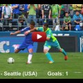 Eden Hazard video 2012 July Chelsea- Seattle Saunders