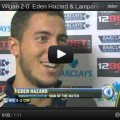 Interview Eden Hazard and Lampard