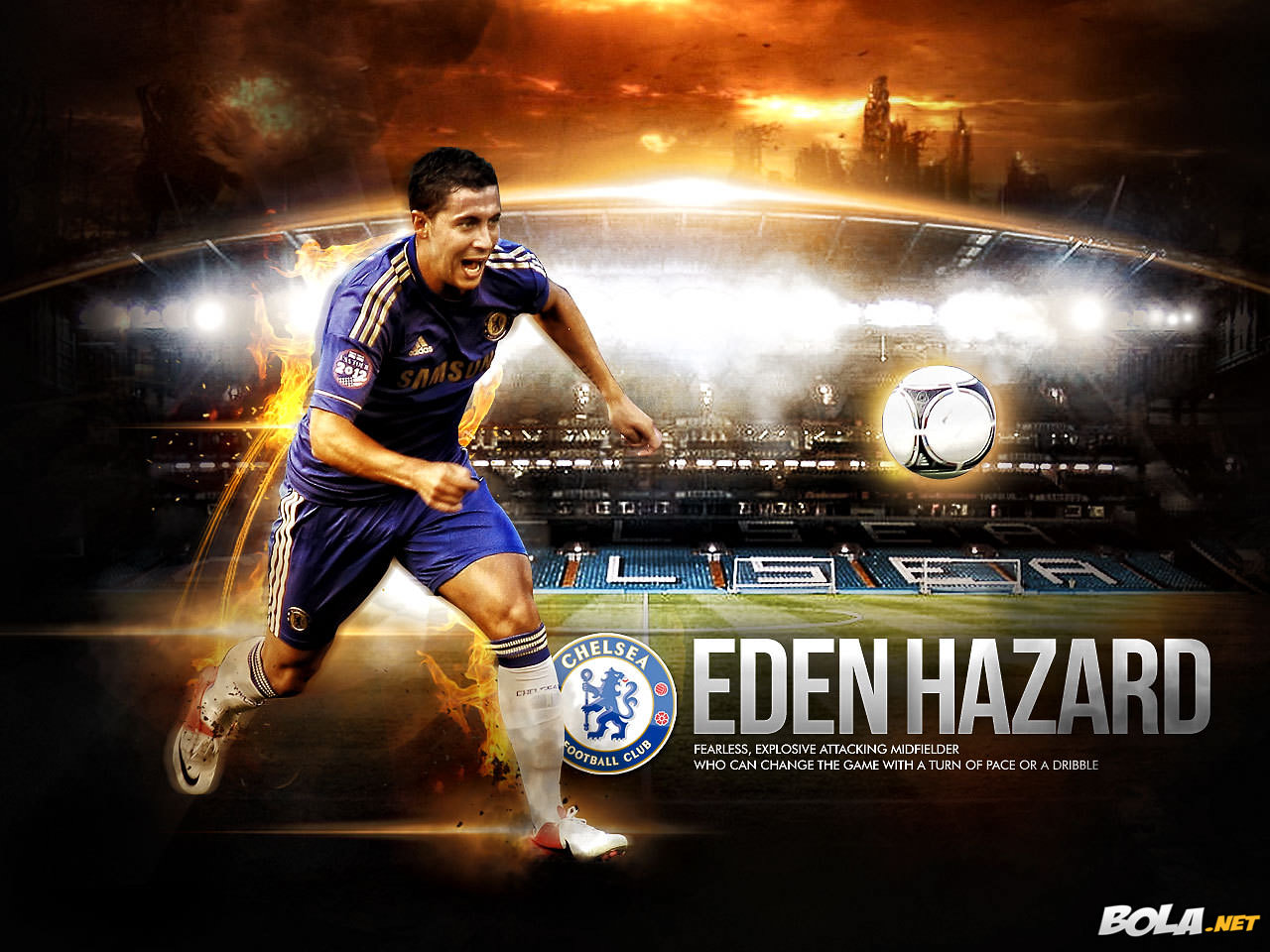Wallpaper Eden Hazard – Chelsea Period (1) - Eden Hazard's Website ...