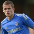 Thorgan Hazard in Chelsea Shirt