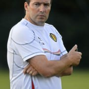 Ex-Belgium's captain and now national Coach Marc Wilmots