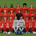 Belgian red devils team prepare for serbia