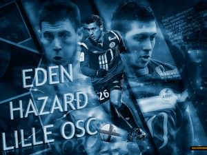 Eden Hazard wallpaper from his Lille Period.