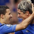Eden Hazard to replace Torres in the atack.
