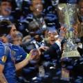 Eden Hazard wins Europa League Cup 2013