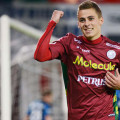 Thorgan Hazard played a great season at Zulte-Waregem and is looking to move up.