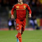 Eden Hazard, the nr. of Belgium, soon on the World Cup