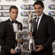 Eden Hazard wins Young player PFA award 2013-14