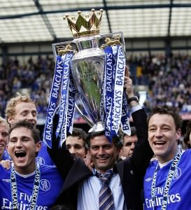 Mourinho and Chelsea win championship