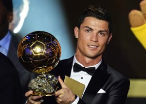 Ronaldo won the Ballon D'Or 2014