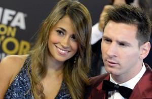 Messi wins the WAG D'Or 2014