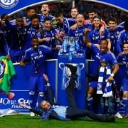 Mourinho goes crazy winning the League Cup
