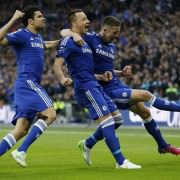 Terry scores the 1-0 in Chelsea-tottenham