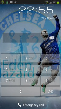 Eden Hazard Wallpaper Android-iPhone example 1