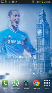 Eden Hazard Wallpaper Android-iPhone example 2