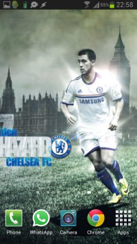 Eden Hazard Wallpaper Android-iPhone example 3