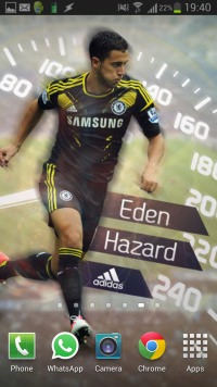 Eden Hazard Wallpaper Android-iPhone 8 - small