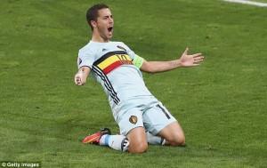 Eden Hazard Belgium - Hungary 4-0 (main)